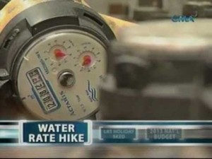 Don't be surprised if soon we will not just have the most expensive electricity rates in the region but the most exorbitant water rates as well (Photo from gmanetwork.com)