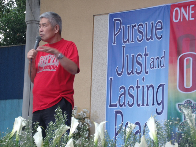 Fr. Joe Dizon was an activist who was devoted to his vocation, and a priest who was committed to his activism (Photo from bulatlat.com)