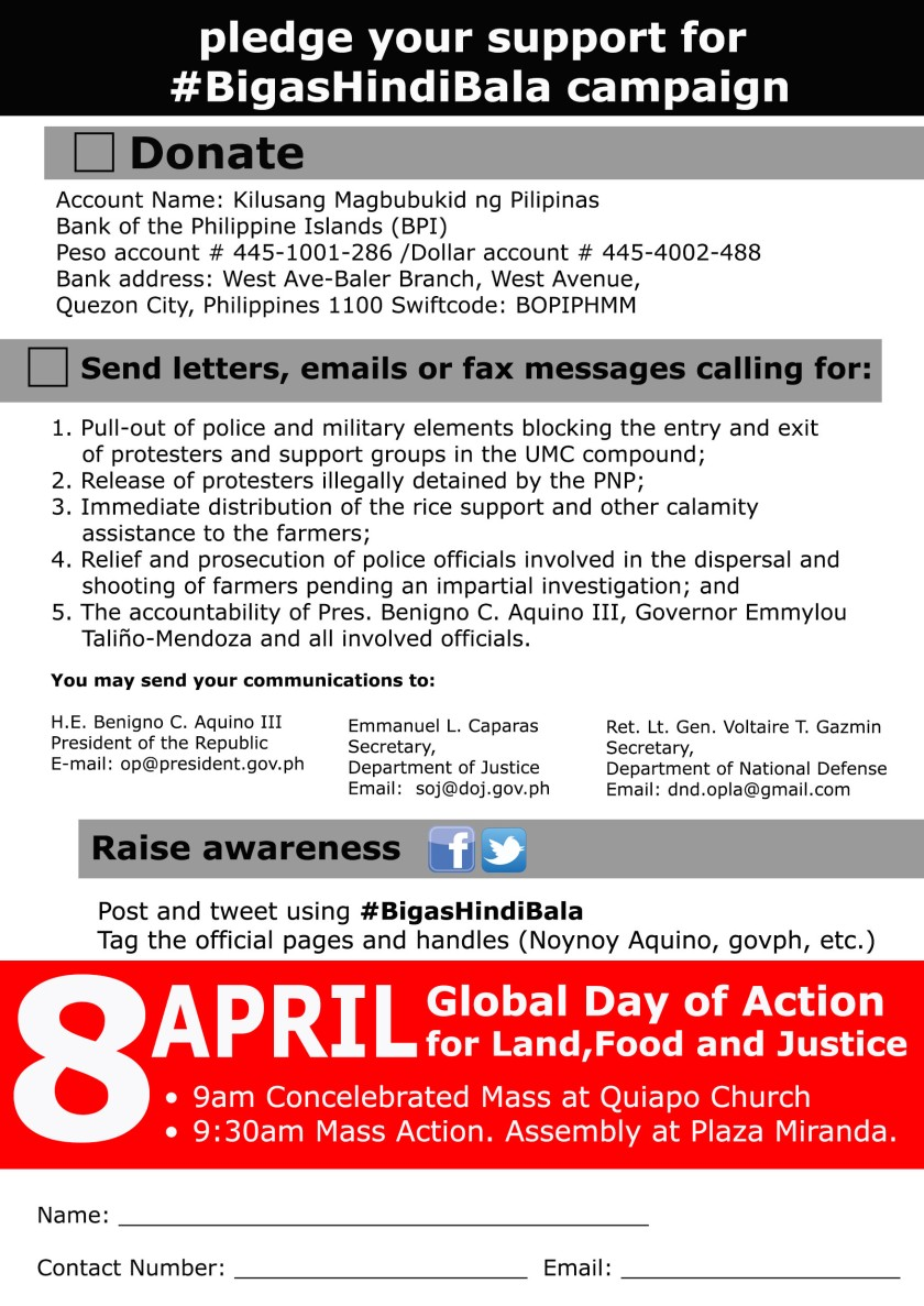 Image from Kilusang Magbubukid ng Pilipinas (KMP)